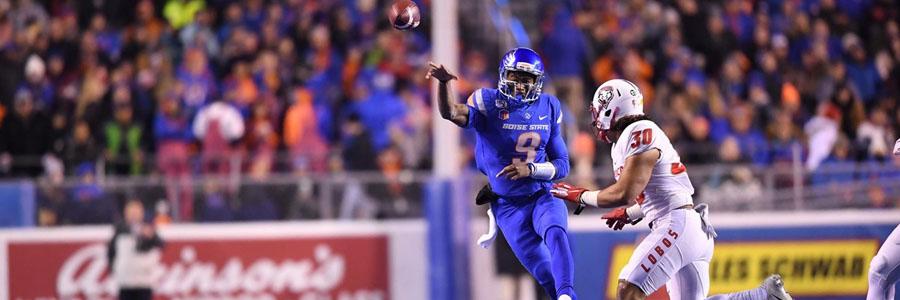Boise State vs Utah State 2019 College Football Week 13 Lines & Analysis.