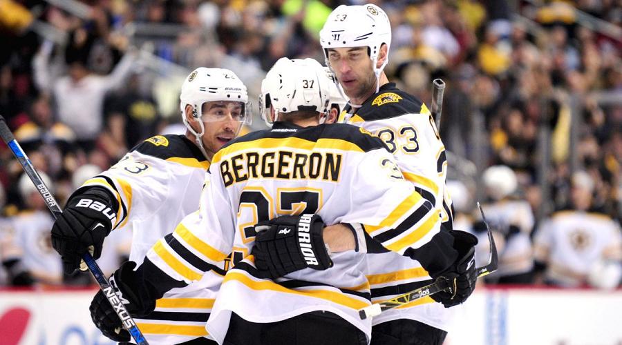 Boston Bruins Goal Celebration
