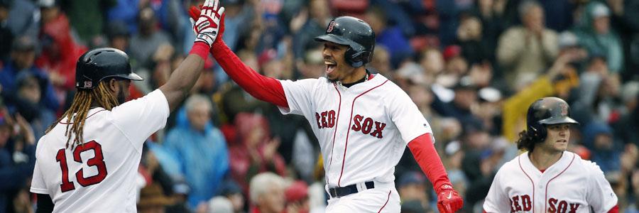 Boston at Houston ALDS Game 1 MLB Odds & Betting Pick