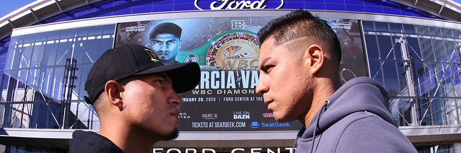 Boxing Garcia vs Vargas Welterweights – 12 Rounds