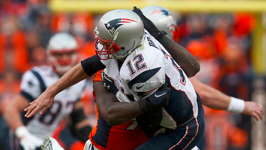 Broncos defense got relentless against Brady
