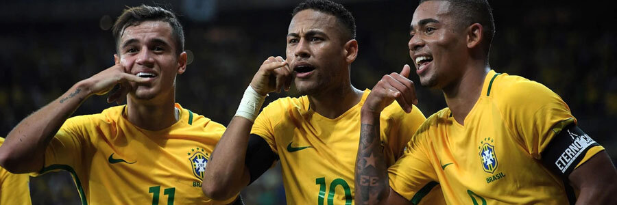 Brazil comes in as huge 2018 World Cup Betting favorite to win it all.