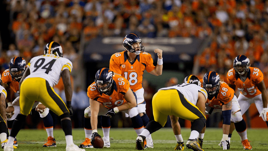 Manning and the Broncos had to play catch up to the Steelers.