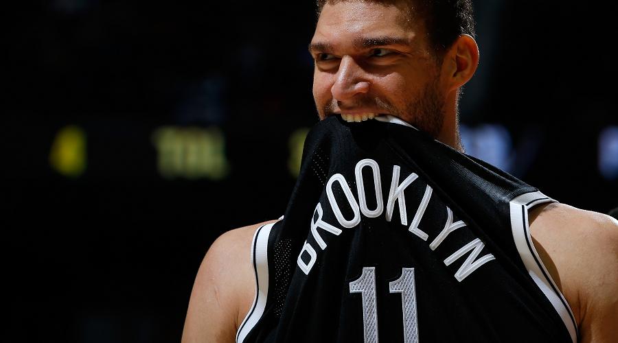 Brook Lopez Brooklyn Nets NBA Team