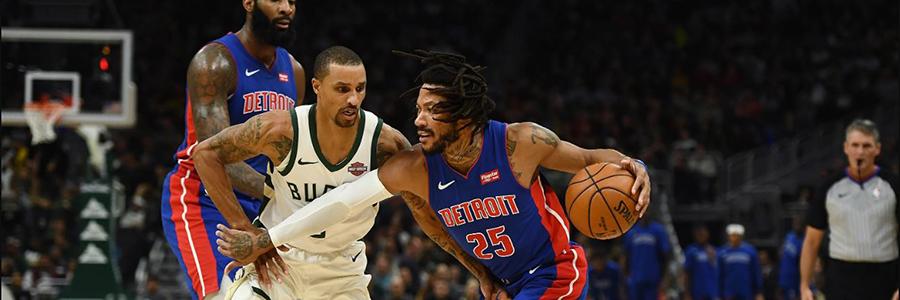 Bucks vs Pistons 2020 NBA Game Preview & Betting Odds