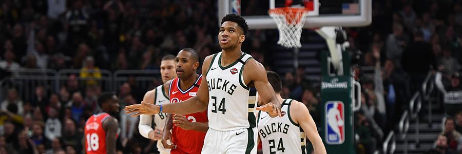 Bucks vs Raptors 2020 NBA Game Preview & Betting Odds