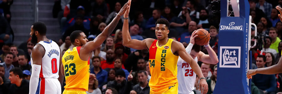 Bucks vs Pistons 2019 NBA Playoffs Odds & Pick for Game 4.