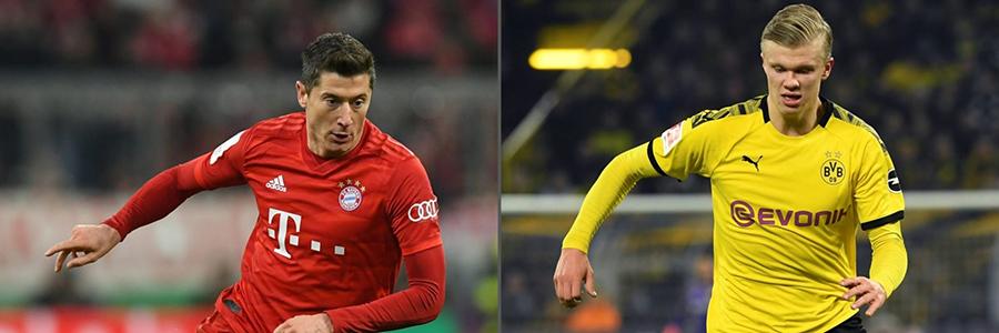 Bundesliga Betting Odds – Borussia Dortmund vs. Bayern Munich In Matchup Of Top Two Teams!