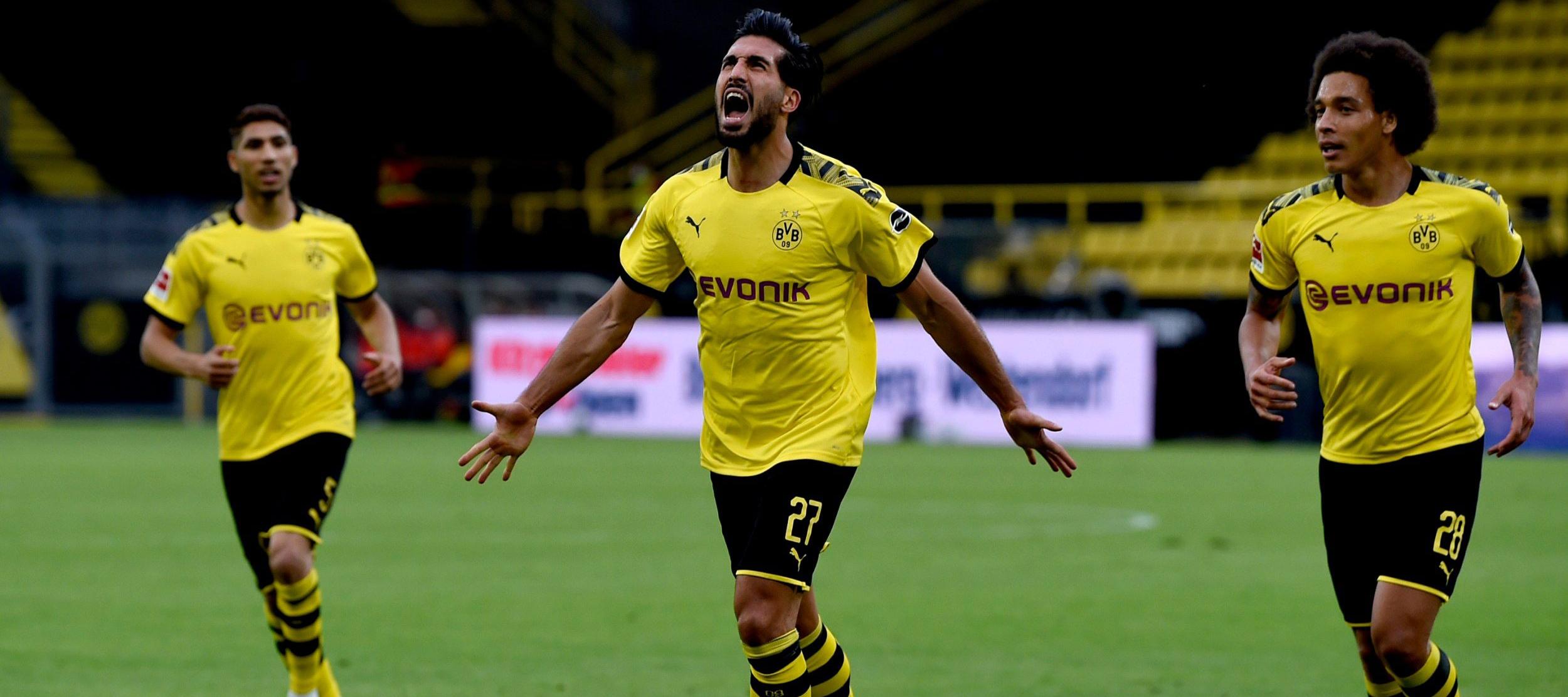 Bundesliga Dortmund Vs Dusseldorf Matchday 31