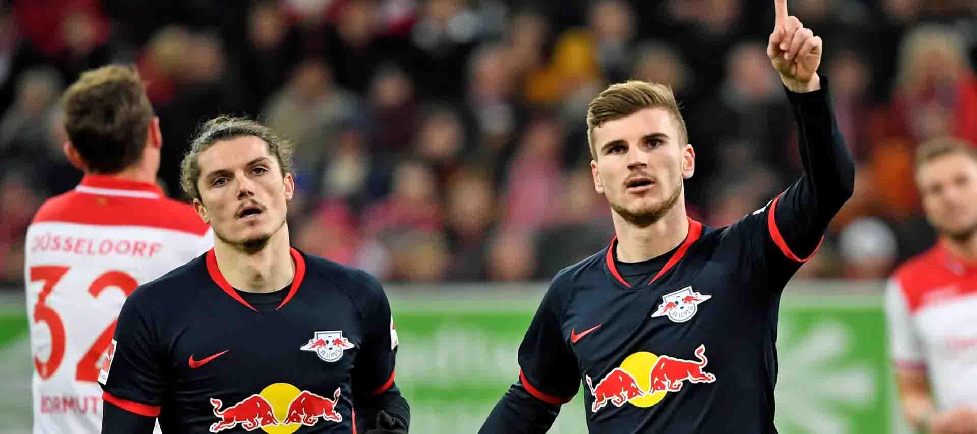 Bundesliga Dusseldorf Vs RB Leipzig Matchday 32