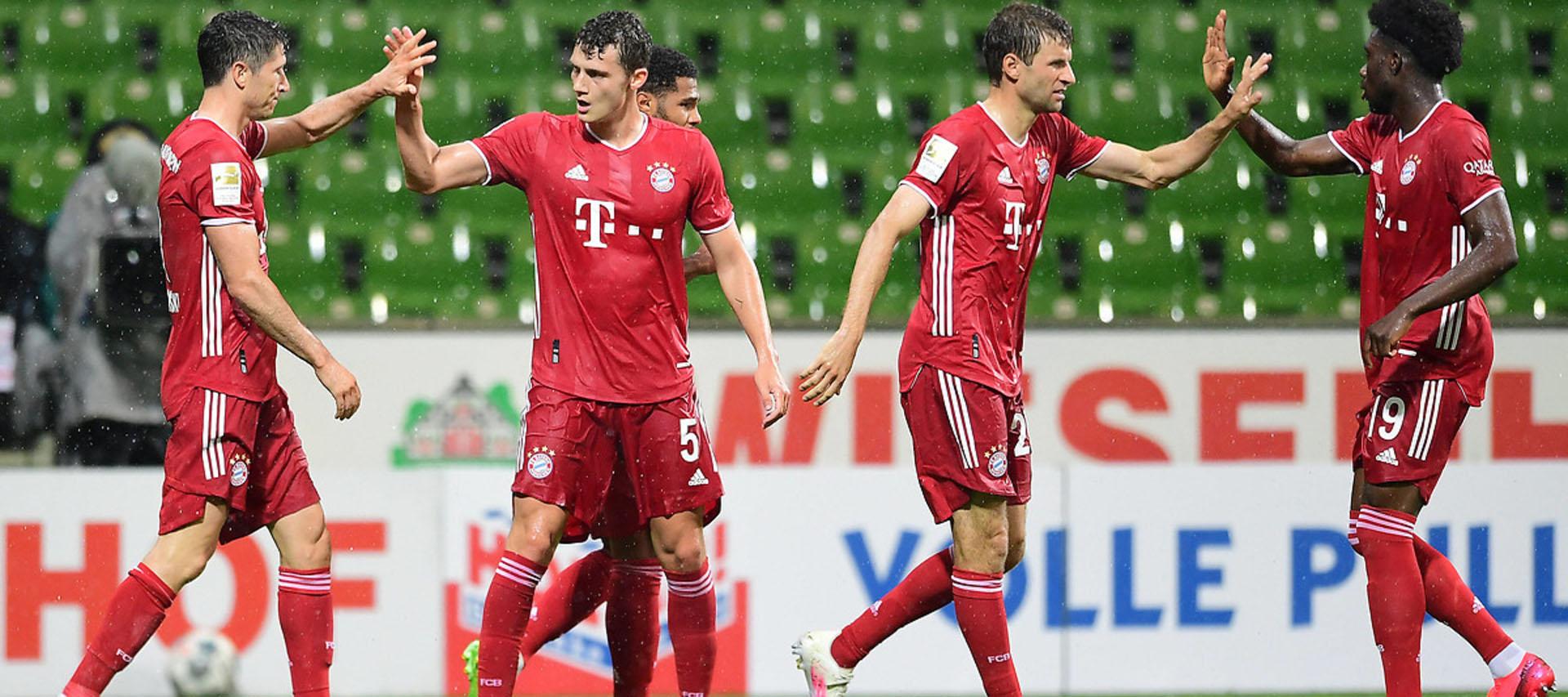 Bundesliga Freiburg Vs Bayern Matchday 33