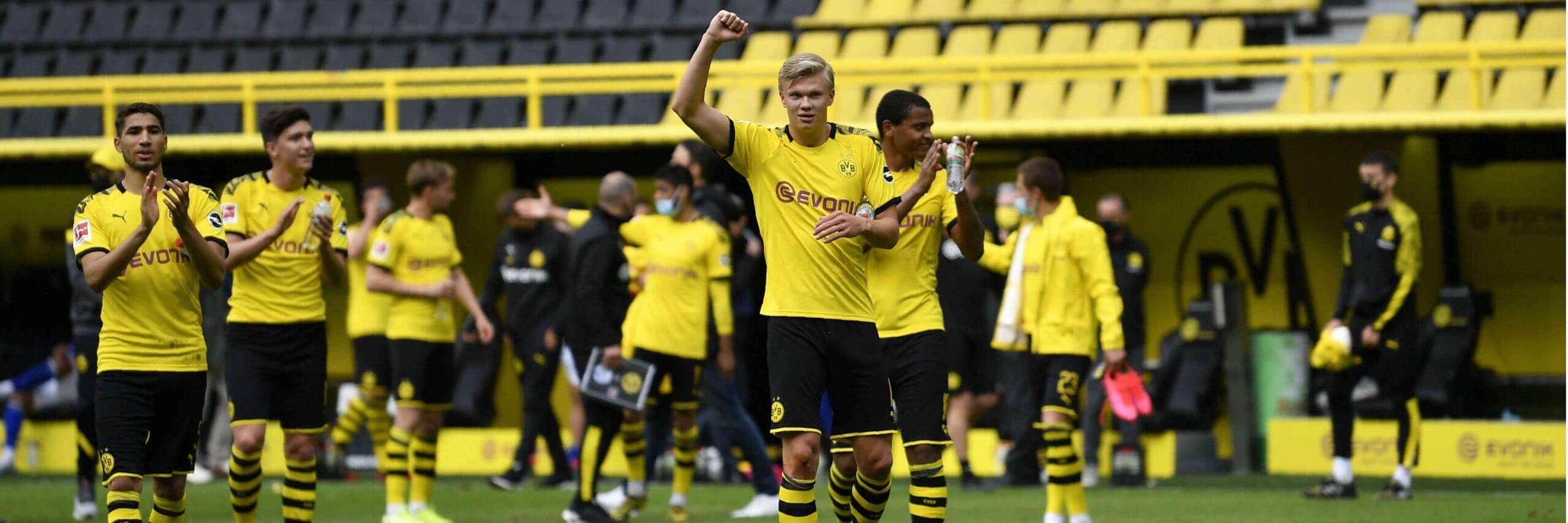 Bundesliga Hertha Berlin vs. Dortmund Matchday 30