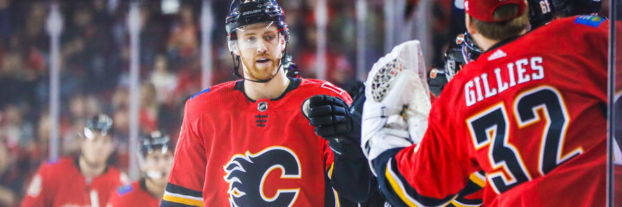 Flames vs Capitals NHL Betting Lines & Expert Analysis.