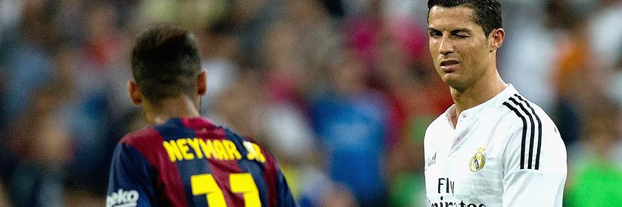 CR7 vs Neymar Online Odds