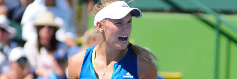 Caroline Wozniacki should be one of your Tennis Betting picks of the week.