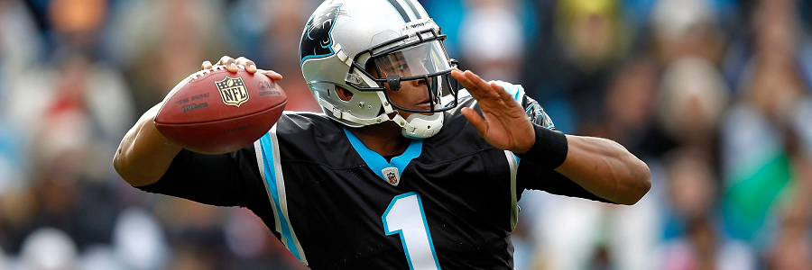 Cam Newton and the Panthers are yet again NFL Odds favorites for Week 6 TNF.