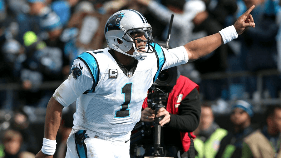 Cam Newton is well on his way to be NFL MVP no questions asked.