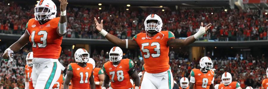 Savannah State vs Miami NCAA Football Week 2 Odds & Pick.