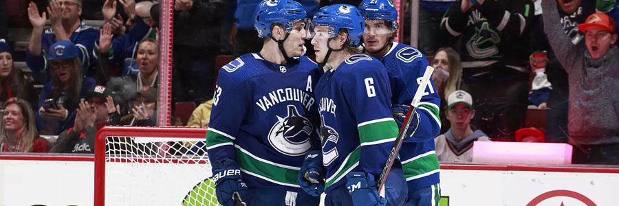 Canucks vs Ducks NHL Betting Lines & Game Analysis