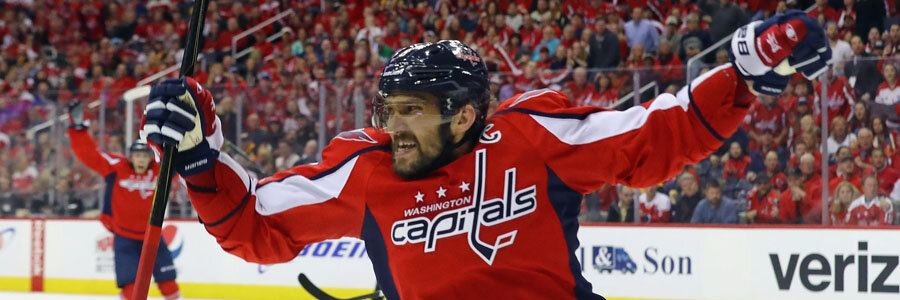 Sharks vs Capitals NHL Odds, Preview & Prediction.