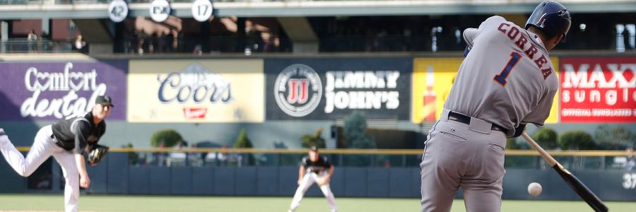 MLB Odds News on Houston Astros' Carlos Correa