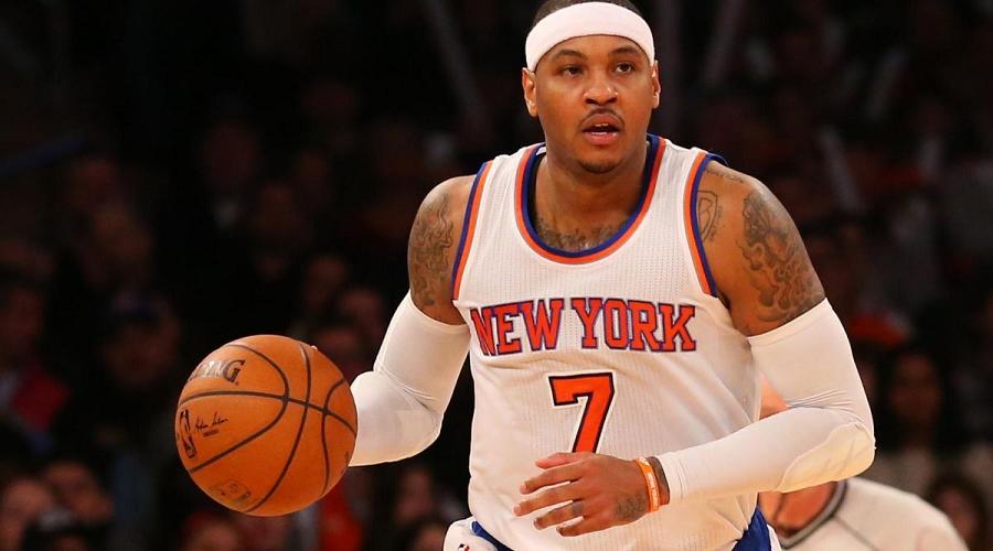 Carnelo Anthony New York Knicks