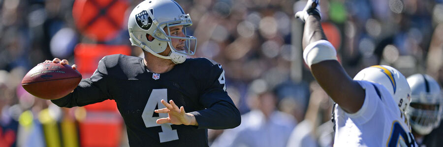 The Raiders are not favorites for NFL Week 8 against the Texans.