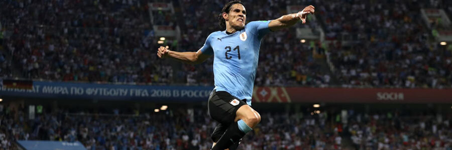 2018 World Cup Quarterfinals Betting Preview: Uruguay vs France.