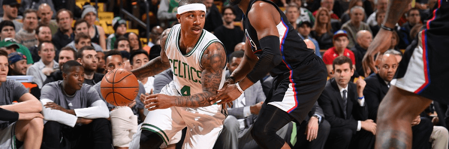 The Celtics took down the Clippers before the All Star Break.