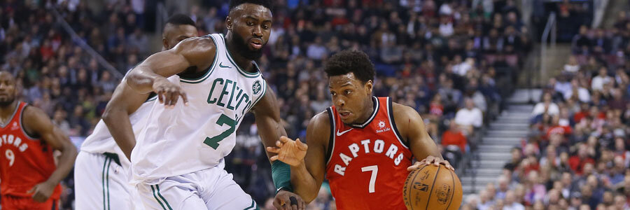 The Celtics look like a good NBA Betting pick for this week against the Raptors.