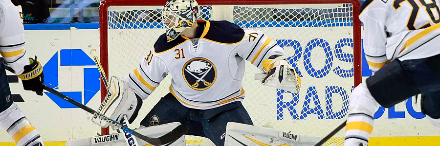 Chad Johnson Sabres Goalie