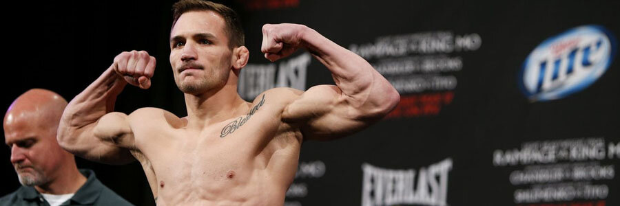 Michael Chandler is one of the favorites for Bellator 237.