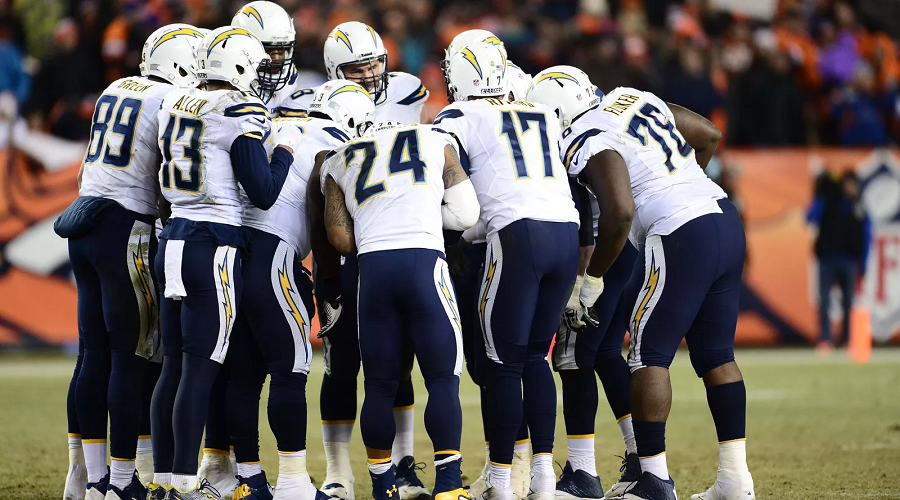 Chargers O line