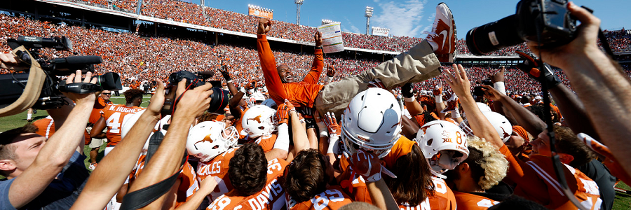 2016 Texas Longhorns Betting Predictions