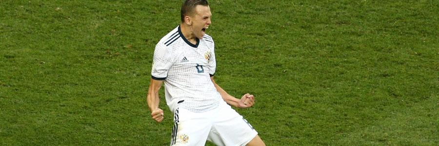 2018 World Cup Quarterfinals Betting Prediction: Russia vs Croatia.