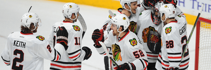 The Blackhawks look like they haven't skipped a beat with their hockey dominance.