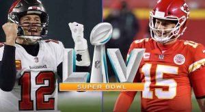 Chiefs vs. Bucs Super Bowl 55