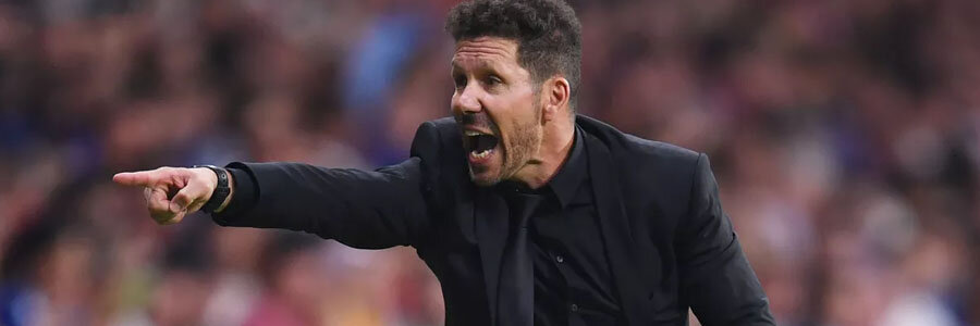Atletico Madrid comes in as the underdog at the Soccer Betting Odds against Barca, but Diego Simeone never gives up.