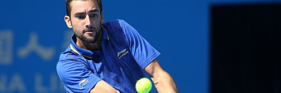 Marin Cilic leads the Croatian Team for the 2018 Davis Cup Final.