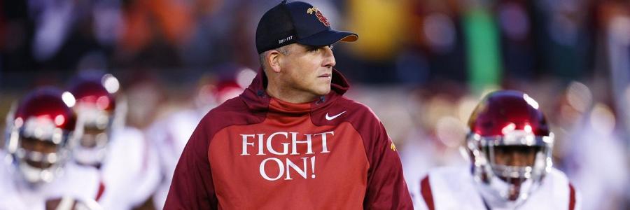 Clay Helton USC Head Coach NCAAF Odds