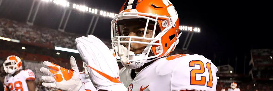 Clemson is one of the College Football Betting favorites to win it all in 2018.
