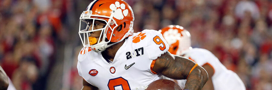 Clemson is one of the favorites for NCAA Football Week 9.