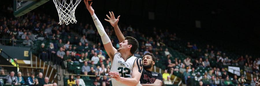 Colorado State at Nevada NCAA Basketball Spread & Analysis.
