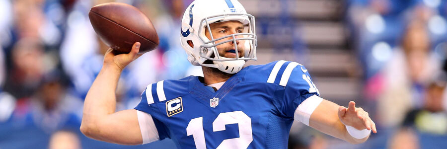 The Colts are favorites for NFL Week 13 against the Jaguars.
