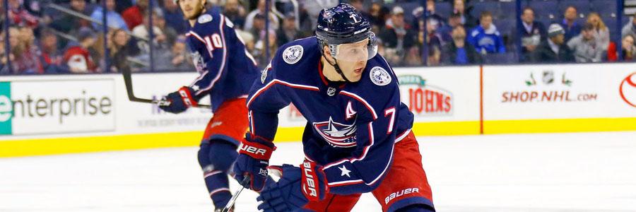 Blue Jackets vs Flyers NHL Betting Odds & Analysis.