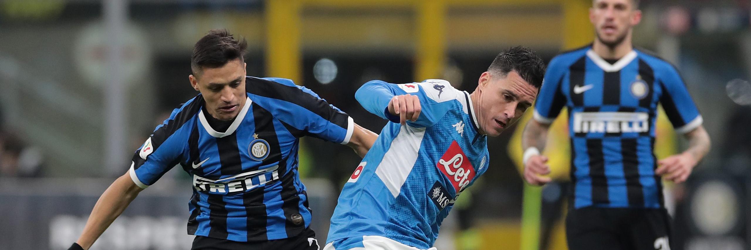 Coppa Italia Inter Vs Napoli Semi-Final Match