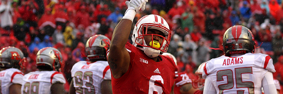 Corey Clement Wisconsin Badgers vs Maryland Terrapines College Football Betting Preview