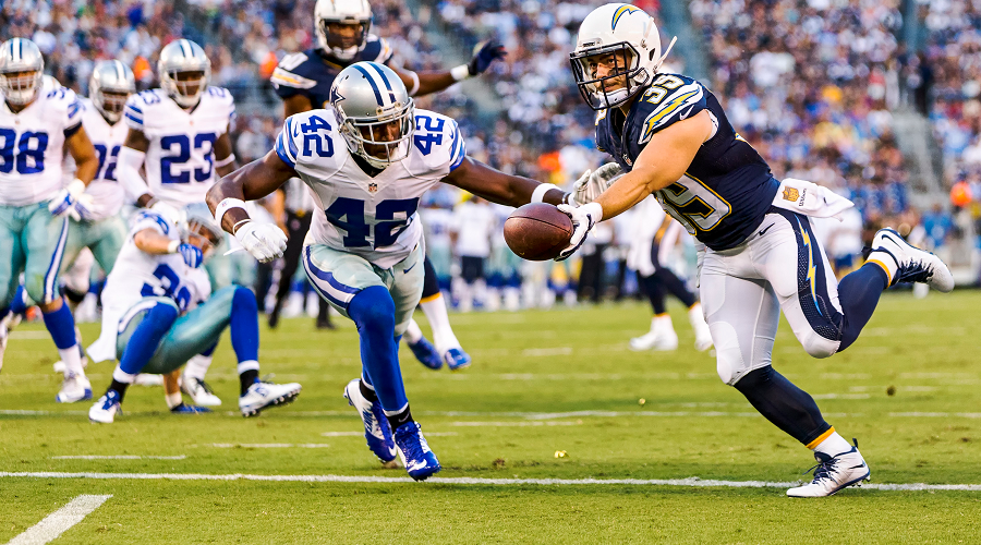 Cowboys vs Chargers