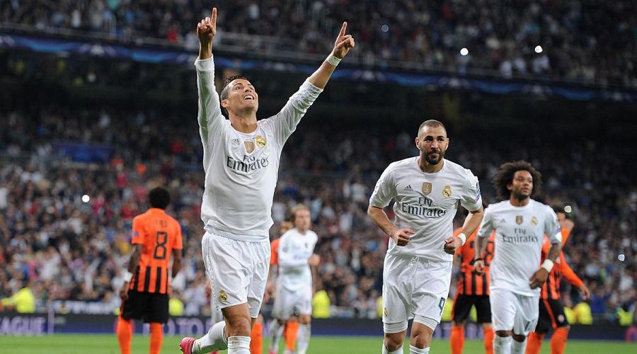 Cristiano Ronaldo UCL 2015