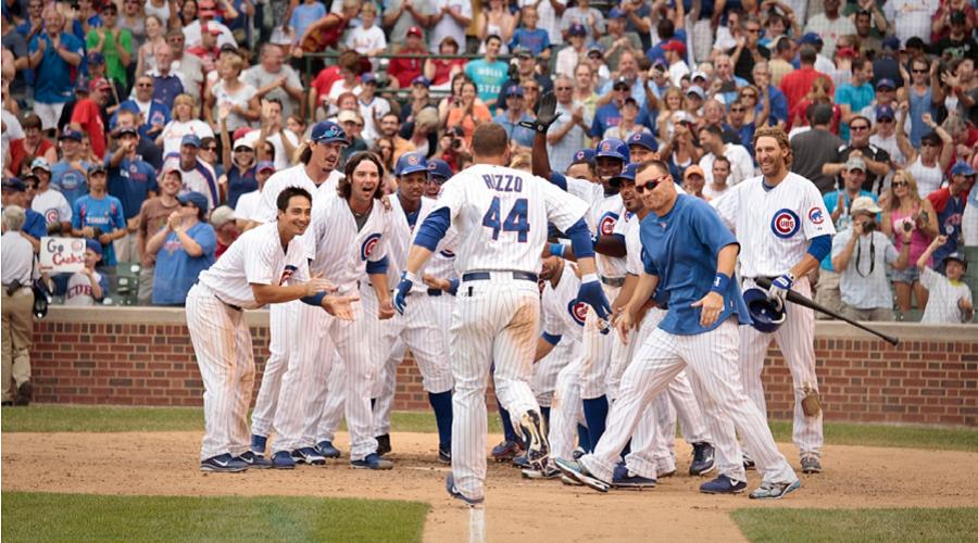 Cubs Walk off win